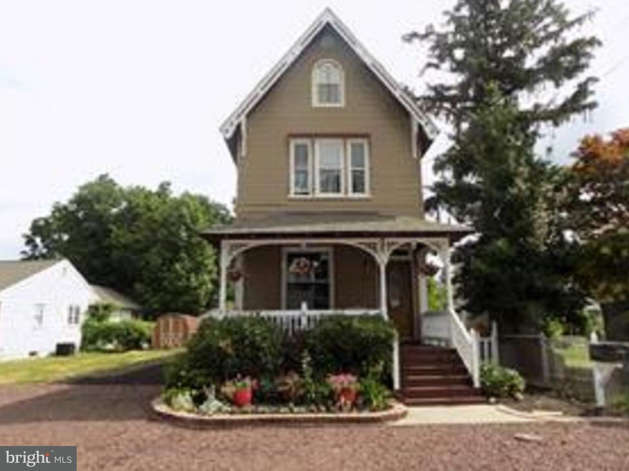 Частный односемейный дом для того Продажа на 214 HOLLY Street Delanco, Нью-Джерси 08075 Соединенные Штаты