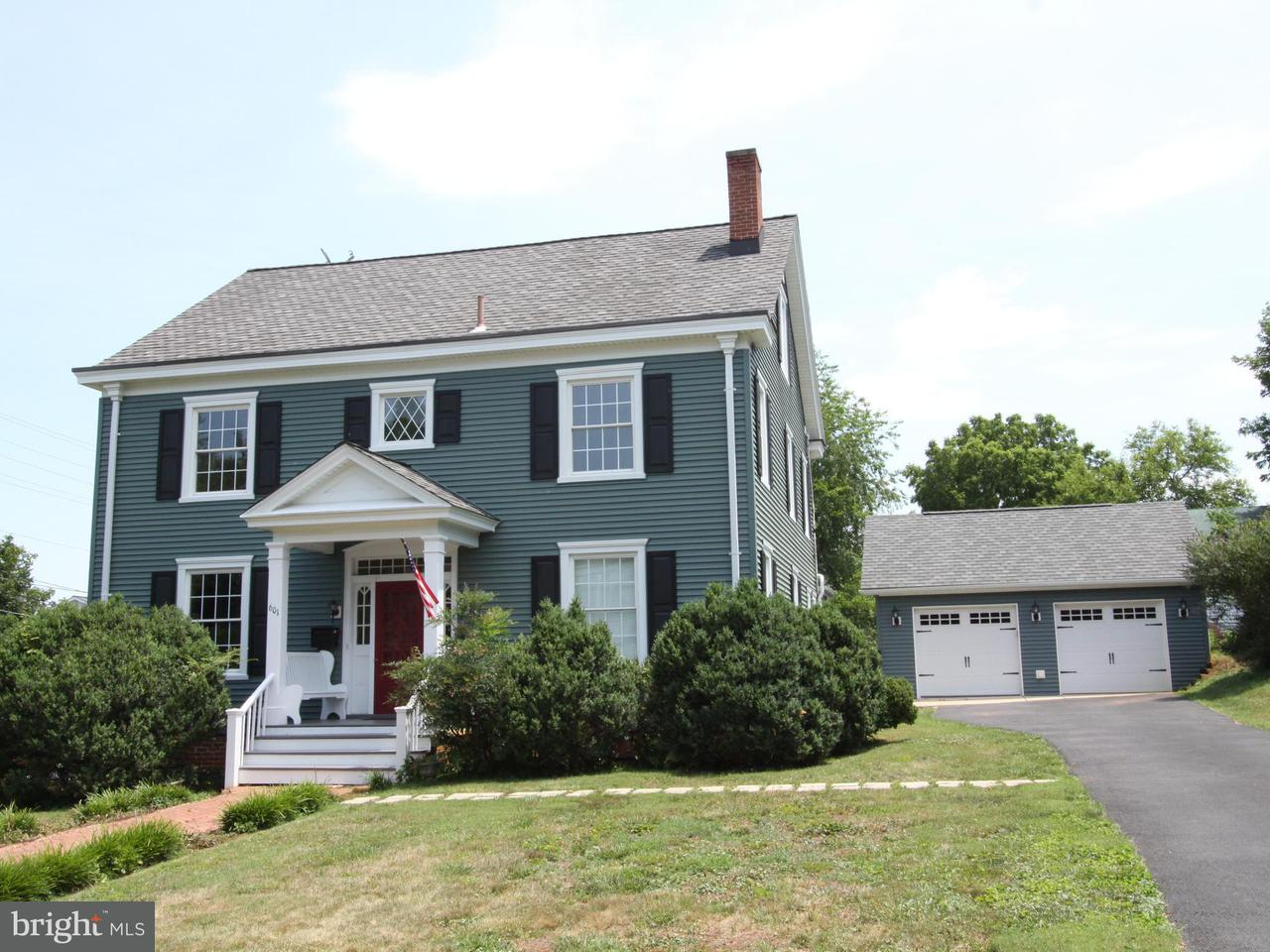 Single Family Home for Sale at 601 WEST Street 601 WEST Street Culpeper, Virginia 22701 United States