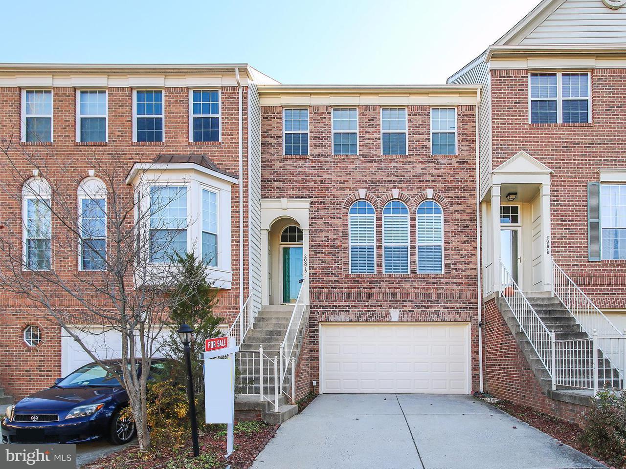 Maison accolée pour l Vente à 20876 TRINITY SQ 20876 TRINITY SQ Sterling, Virginia 20165 États-Unis