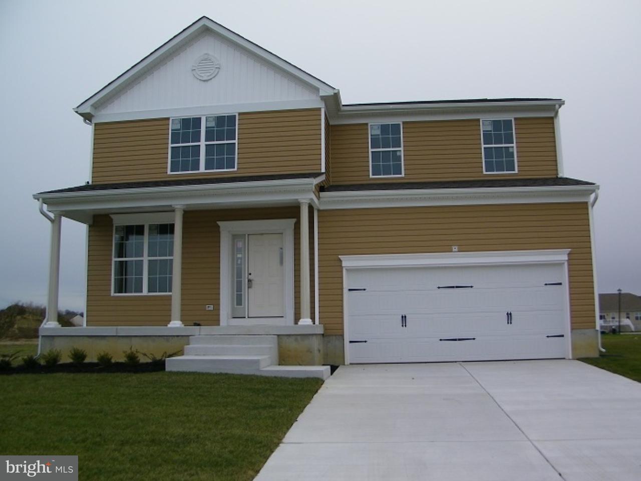 Частный односемейный дом для того Продажа на 400 TIBURAN Court Felton, Делавэр 19943 Соединенные Штаты