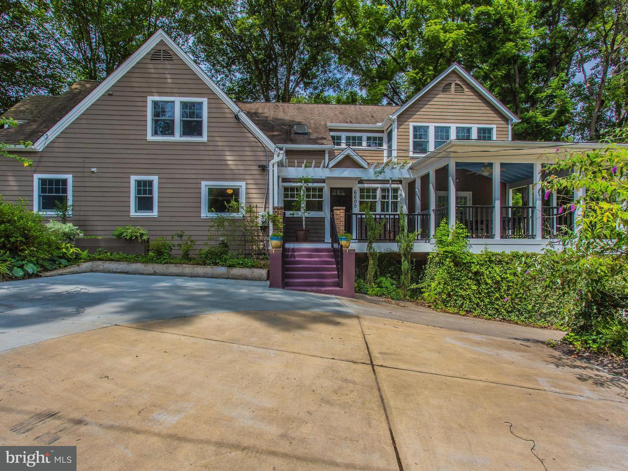 Maison unifamiliale pour l Vente à 6608 80TH Place 6608 80TH Place Cabin John, Maryland 20818 États-Unis