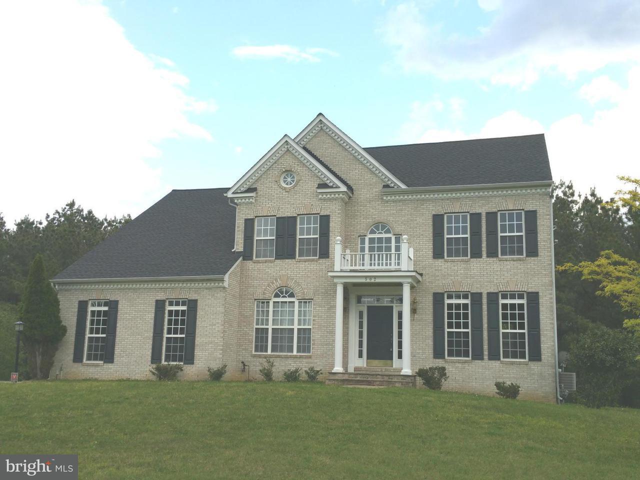 独户住宅 为 销售 在 502 MATTAWOMAN WAY 502 MATTAWOMAN WAY Accokeek, 马里兰州 20607 美国