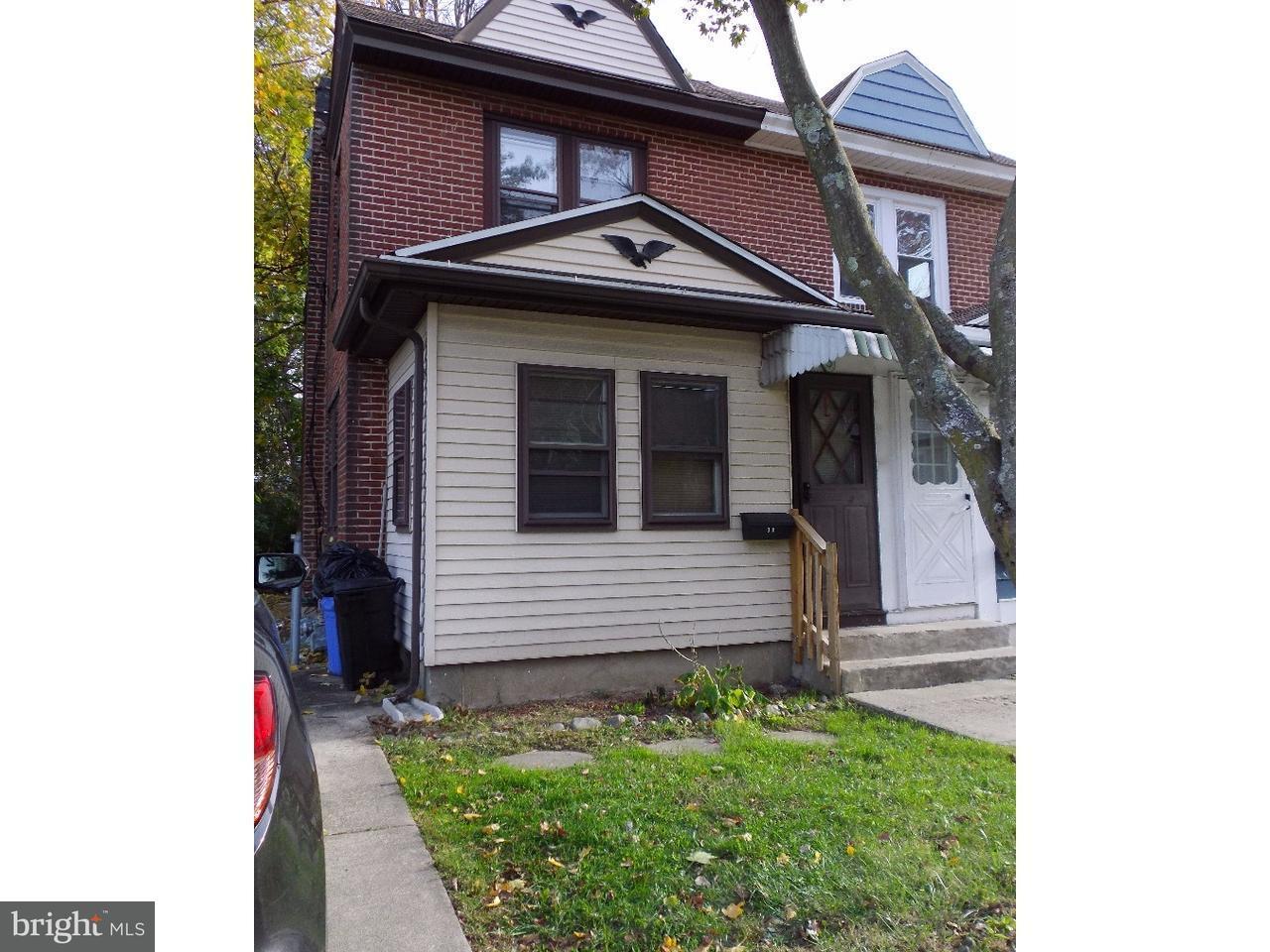 Maison accolée pour l à louer à 3,3A S GLEN Avenue Glenolden, Pennsylvanie 19036 États-Unis