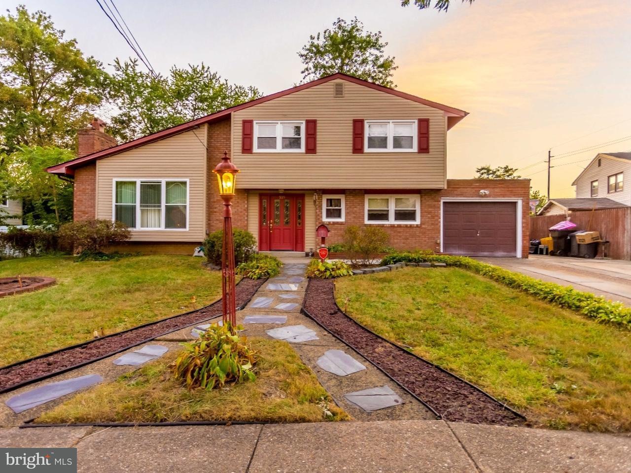 Частный односемейный дом для того Продажа на 539 FRESNO Drive Magnolia, Нью-Джерси 08049 Соединенные Штаты