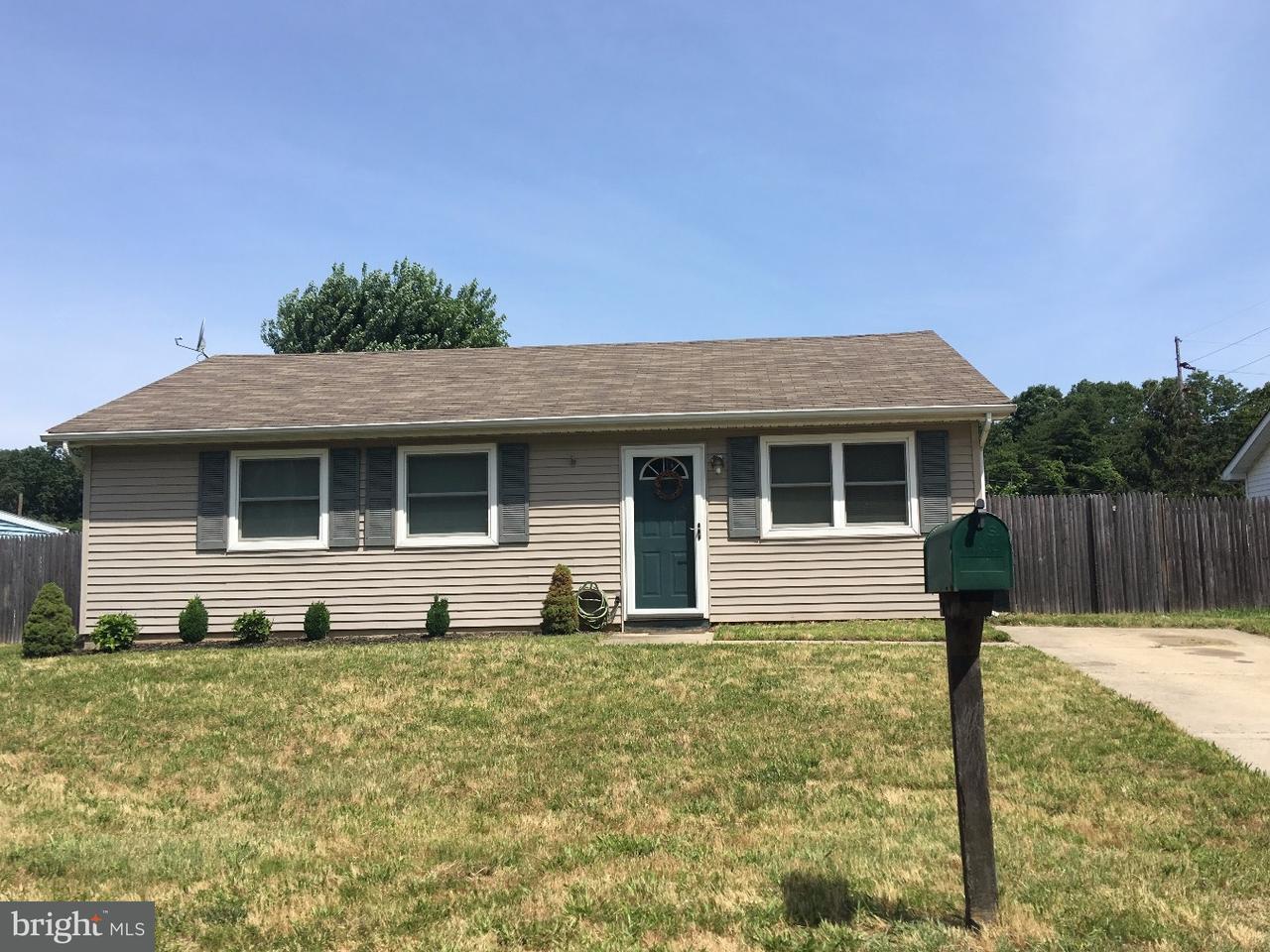 Casa Unifamiliar por un Alquiler en 38 CAMBRIDGE Avenue Sicklerville, Nueva Jersey 08081 Estados Unidos