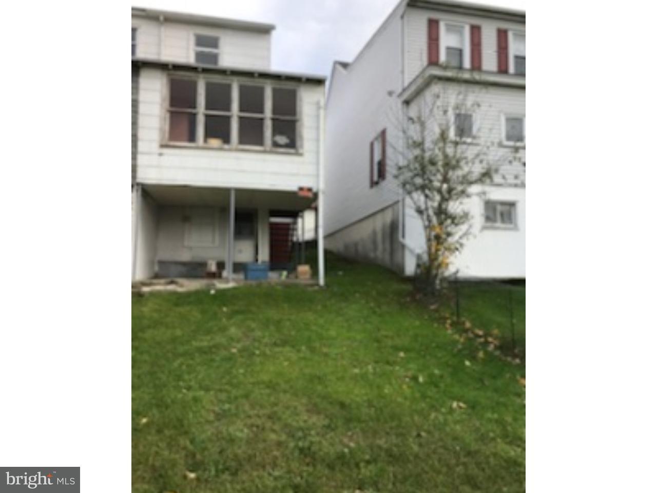Casa unifamiliar adosada (Townhouse) por un Venta en 553 3RD Street Port Carbon, Pennsylvania 17965 Estados Unidos