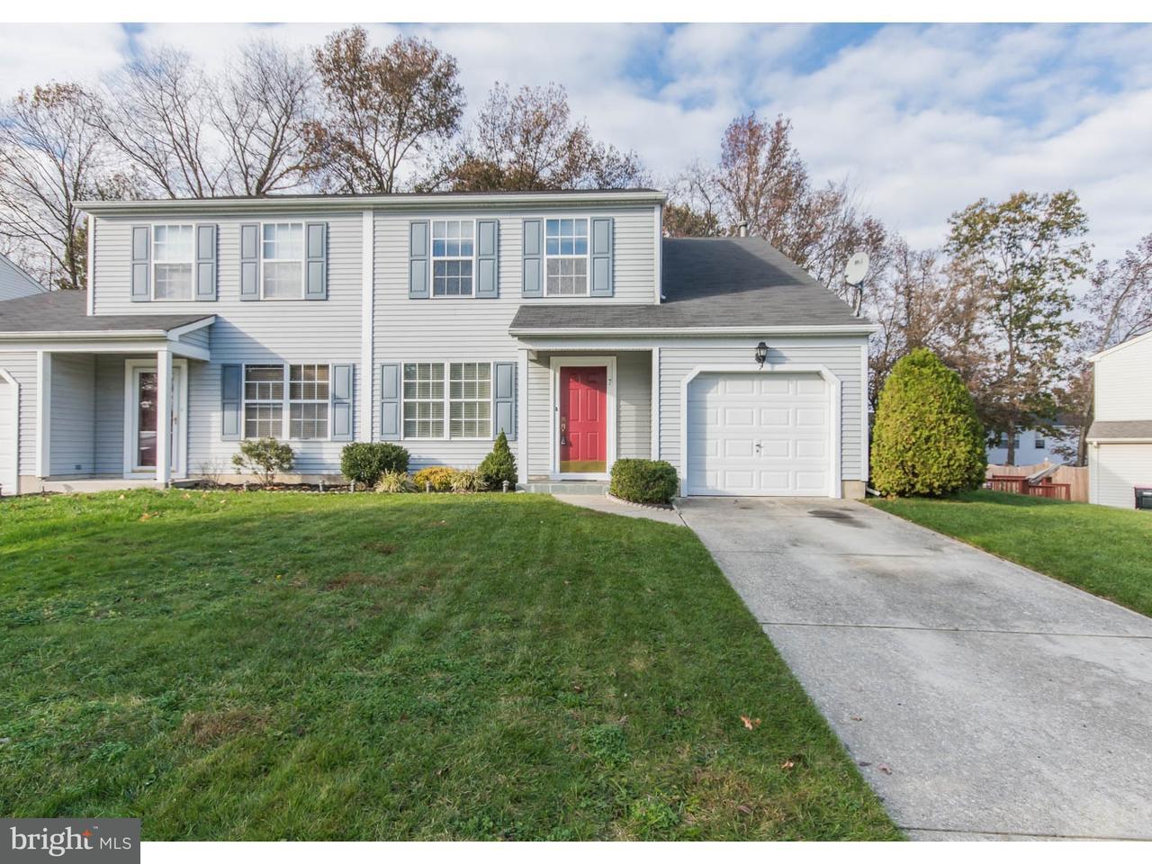 联栋屋 为 销售 在 7 WOODMILL Drive Clementon, 新泽西州 08021 美国