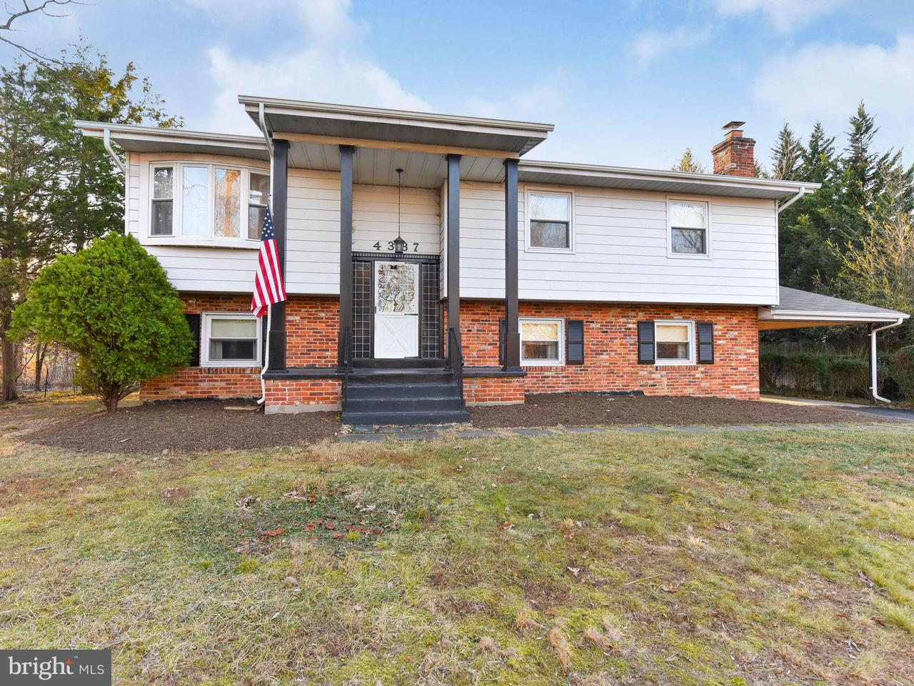 Single Family Home for Sale at 4337 UPLAND Drive 4337 UPLAND Drive Alexandria, Virginia 22310 United States