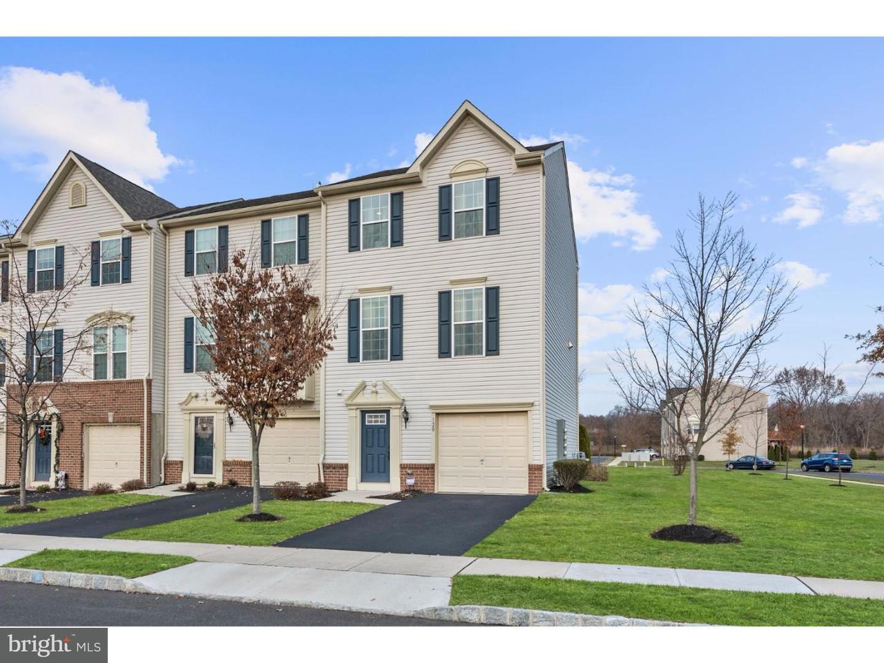 Casa unifamiliar adosada (Townhouse) por un Alquiler en 120 MICHELE WAY Cinnaminson, Nueva Jersey 08077 Estados Unidos
