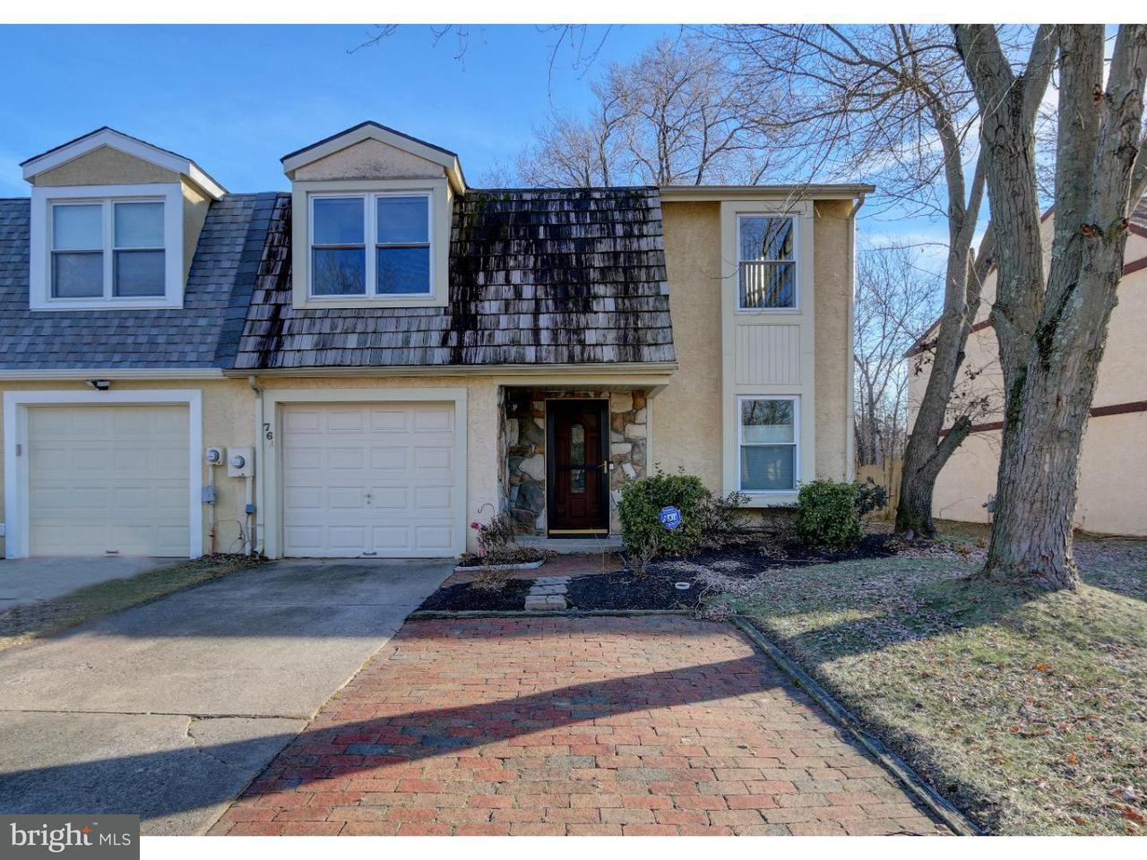 Maison accolée pour l à louer à 76A PEREGRINE Drive Voorhees, New Jersey 08043 États-Unis