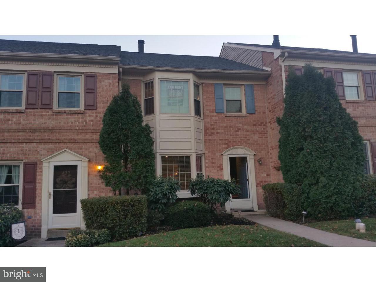 タウンハウス のために 賃貸 アット 435 FRANKLIN Court Collegeville, ペンシルベニア 19426 アメリカ合衆国
