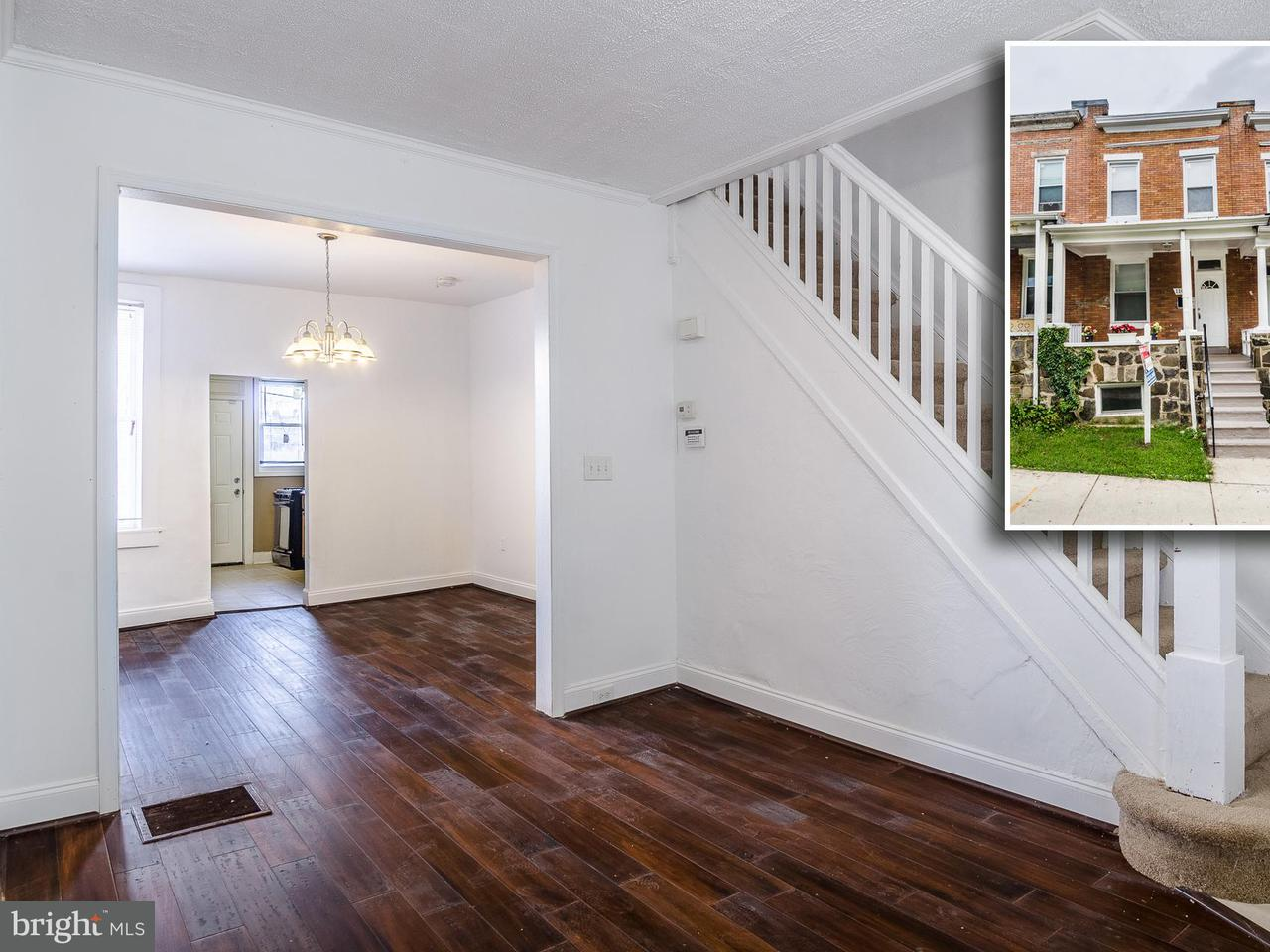 Single Family for Sale at 1107 Lakewood Ave N Baltimore, Maryland 21213 United States