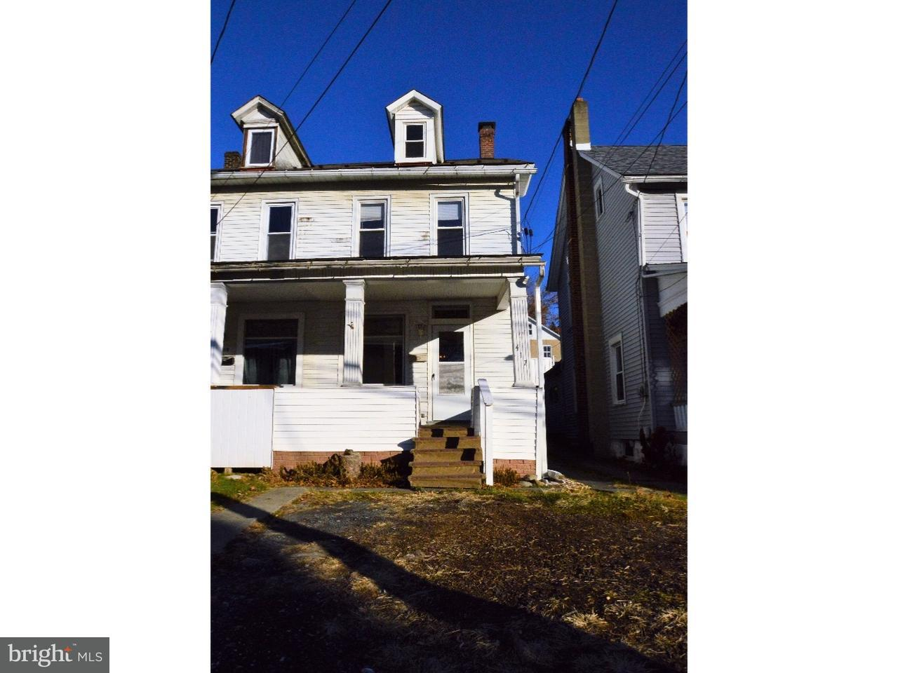 Townhouse for Sale at 417 PENNSYLVANIA Avenue Bangor, Pennsylvania 18013 United States