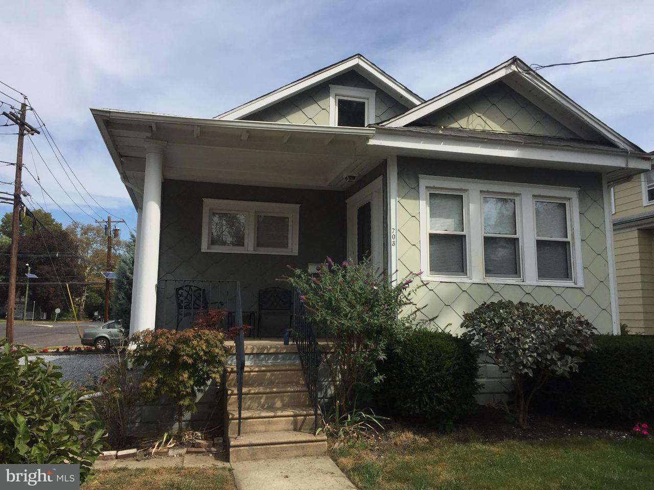 Частный односемейный дом для того Аренда на 703 WILLITTS Avenue Audubon, Нью-Джерси 08106 Соединенные Штаты