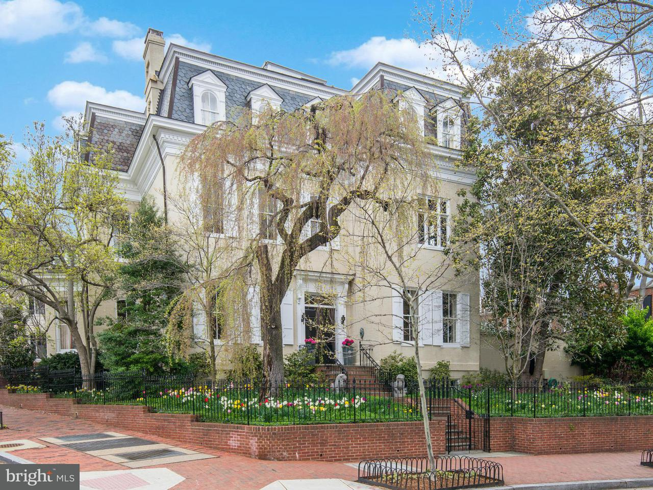 Single Family Home for Sale at 3053 P ST NW 3053 P ST NW Washington, District Of Columbia 20007 United States