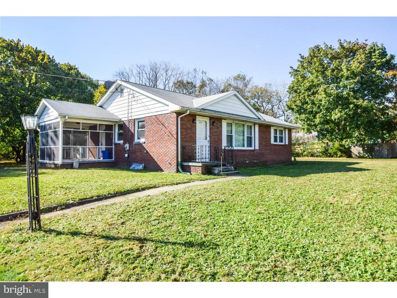 Single Family Home for Sale at 207 E PACIFIC Avenue Minotola, New Jersey 08341 United States