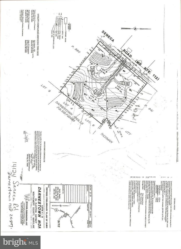 Land for Sale at 14124 SENECA Road 14124 SENECA Road Germantown, Maryland 20874 United States