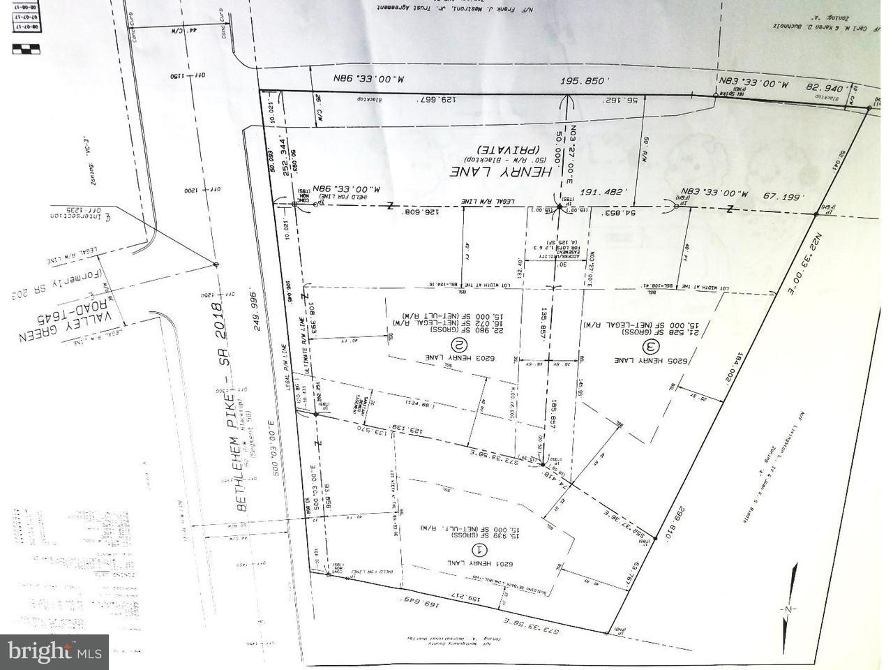 Single Family Home for Sale at 6205 HENRY Lane Flourtown, Pennsylvania 19031 United States