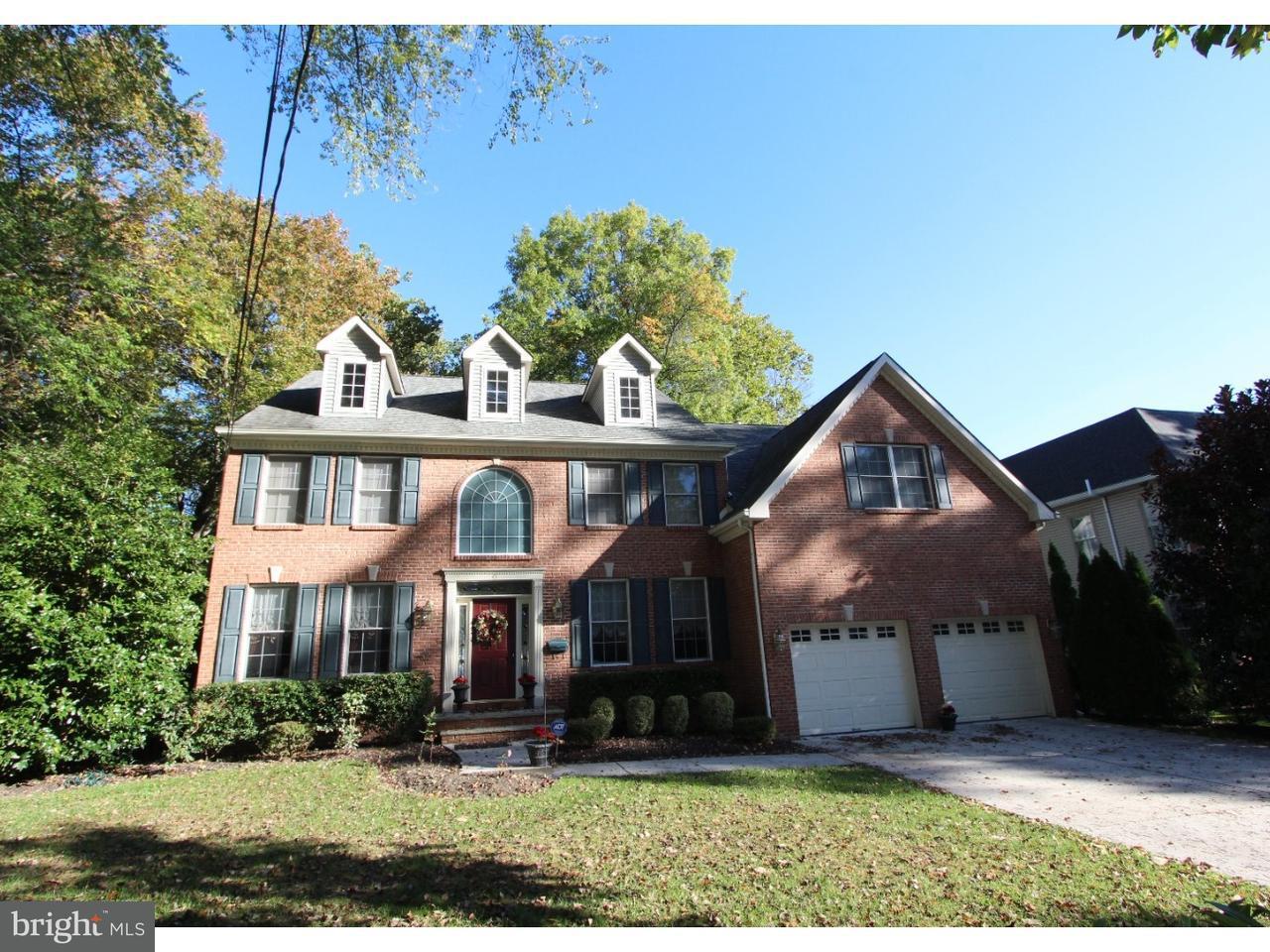 Частный односемейный дом для того Продажа на 43 PENNBROOK Drive Haddonfield, Нью-Джерси 08033 Соединенные Штаты