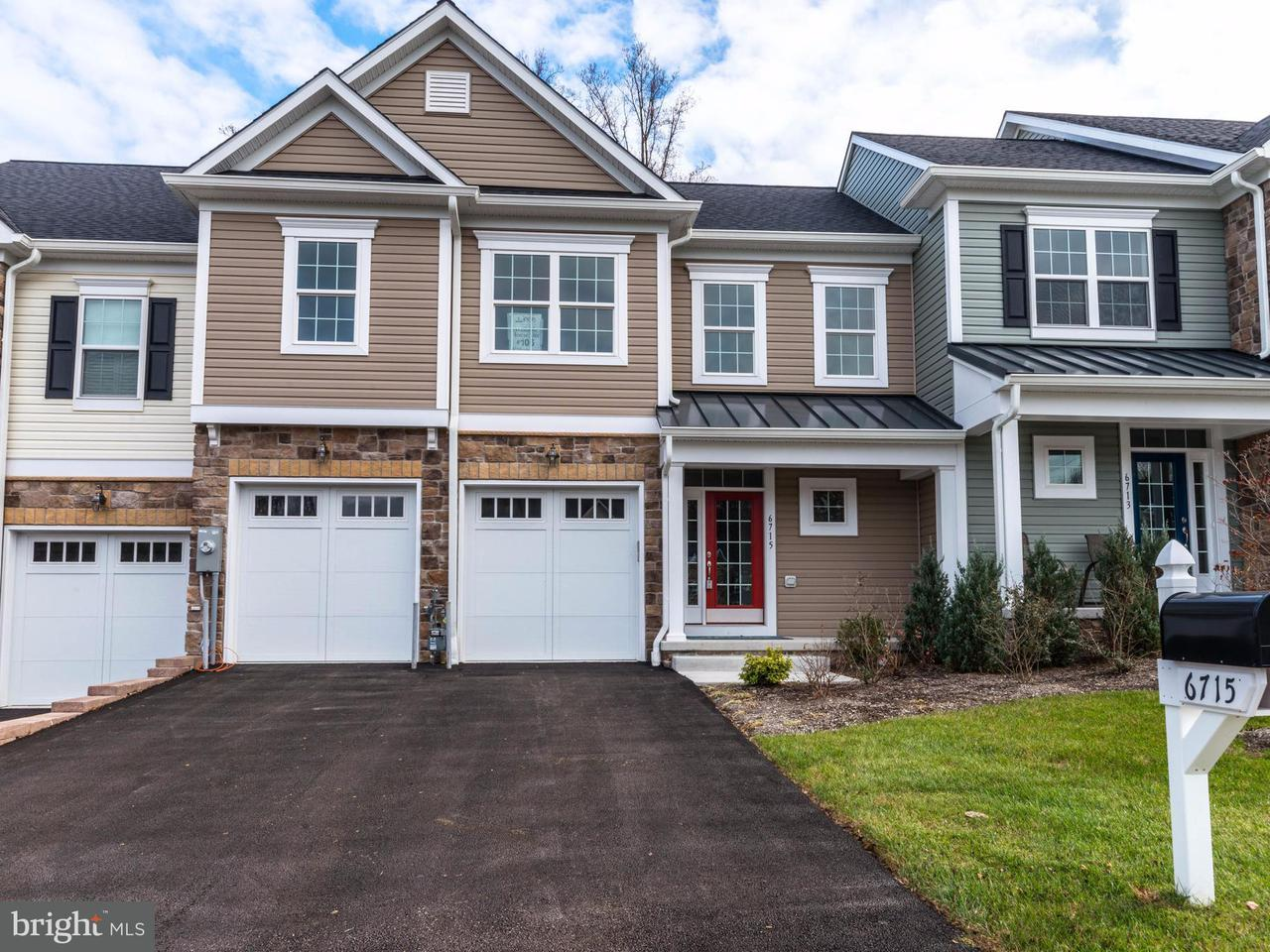 Townhouse for Sale at 6715 FAIRFORD Lane 6715 FAIRFORD Lane Baltimore, Maryland 21209 United States
