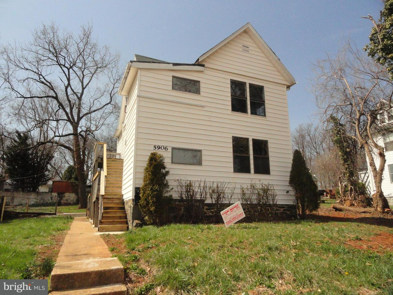 Other Residential for Rent at 5906 Benton Heights Ave #2nd Floor Baltimore, Maryland 21206 United States