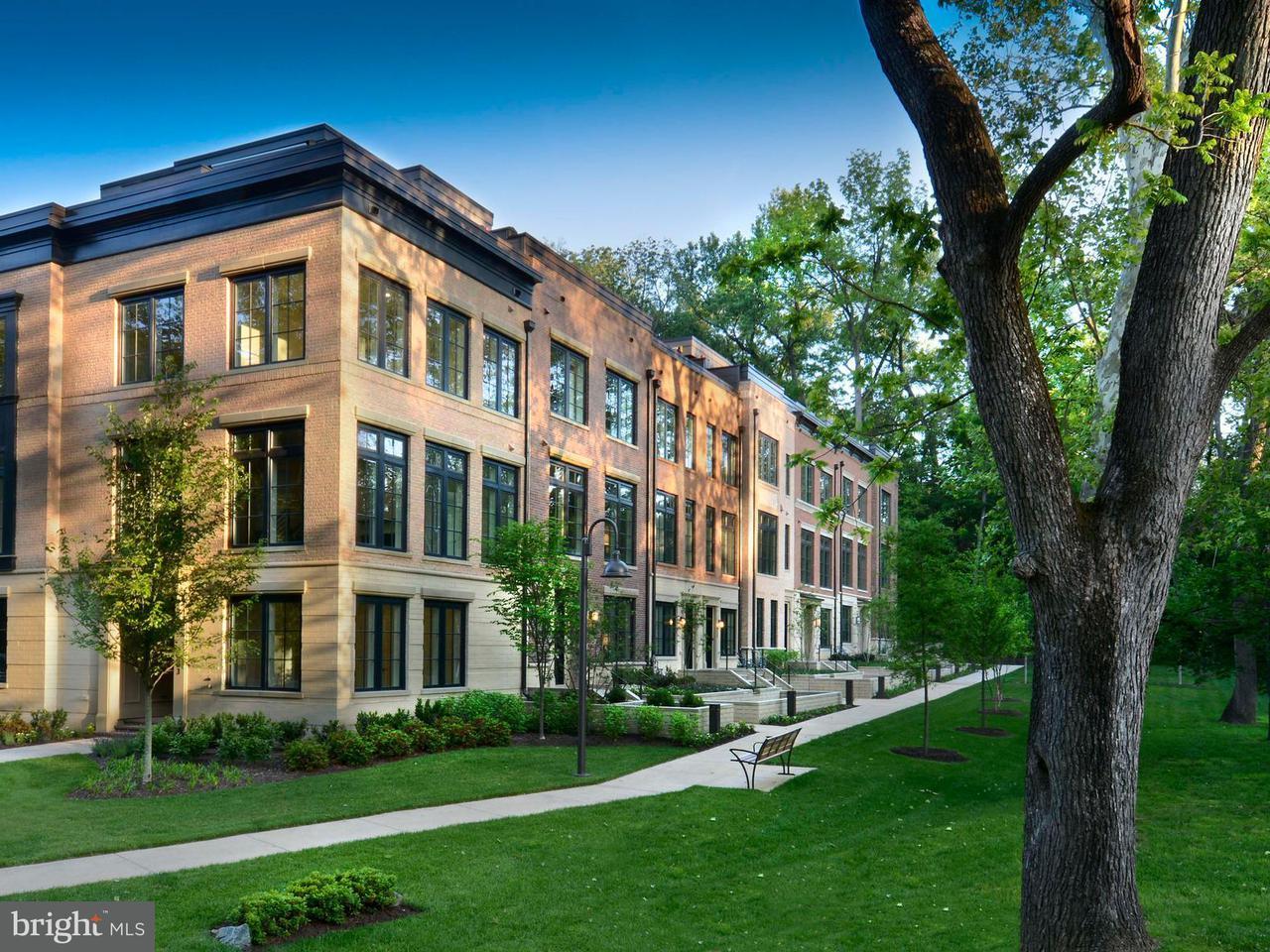 Maison accolée pour l Vente à 3605 CHEVY CHASE LAKE DR #LELAND MODEL 3605 CHEVY CHASE LAKE DR #LELAND MODEL Chevy Chase, Maryland 20815 États-Unis