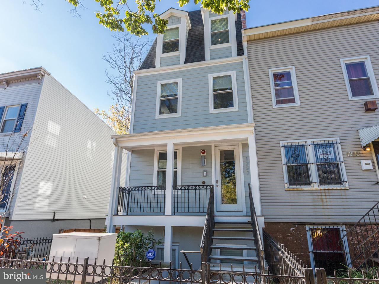 Townhouse for Sale at 1227 MORSE ST NE #4 1227 MORSE ST NE #4 Washington, District Of Columbia 20002 United States
