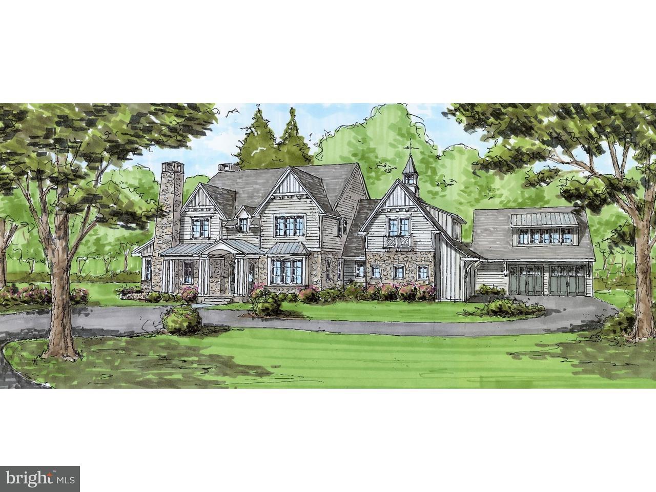 独户住宅 为 销售 在 76 PLYMOUTH Road Blue Bell, 宾夕法尼亚州 19422 美国