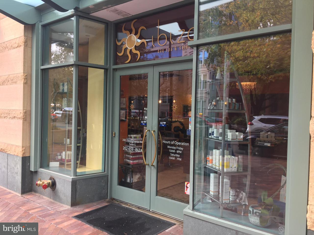 Commercial for Sale at 2401 Pennsylvania Ave NW #suit-G /sSlon iIiza Washington, District Of Columbia 20037 United States