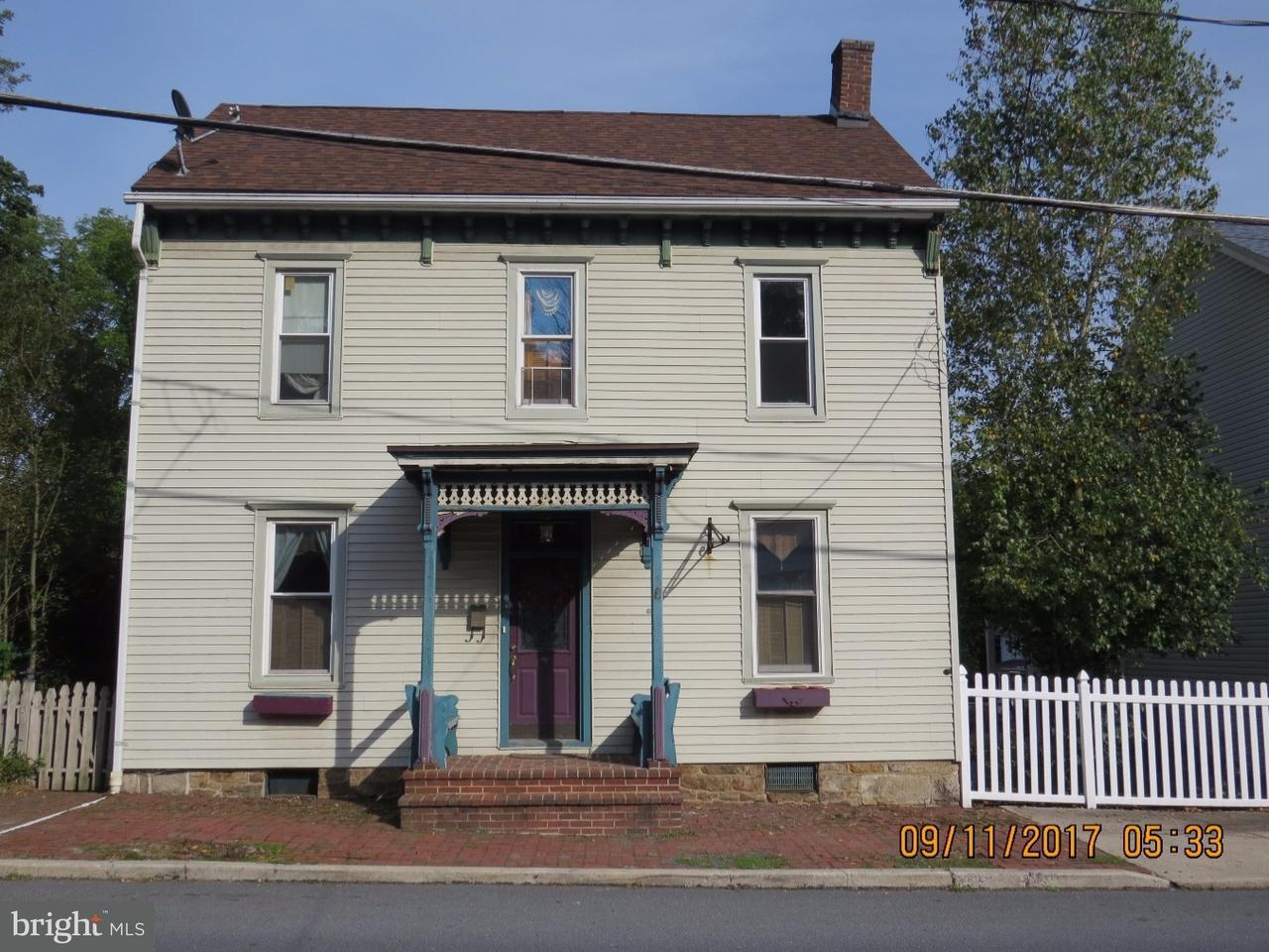 Частный односемейный дом для того Продажа на 267 S TULPEHOCKEN Street Pine Grove, Пенсильвания 17963 Соединенные Штаты