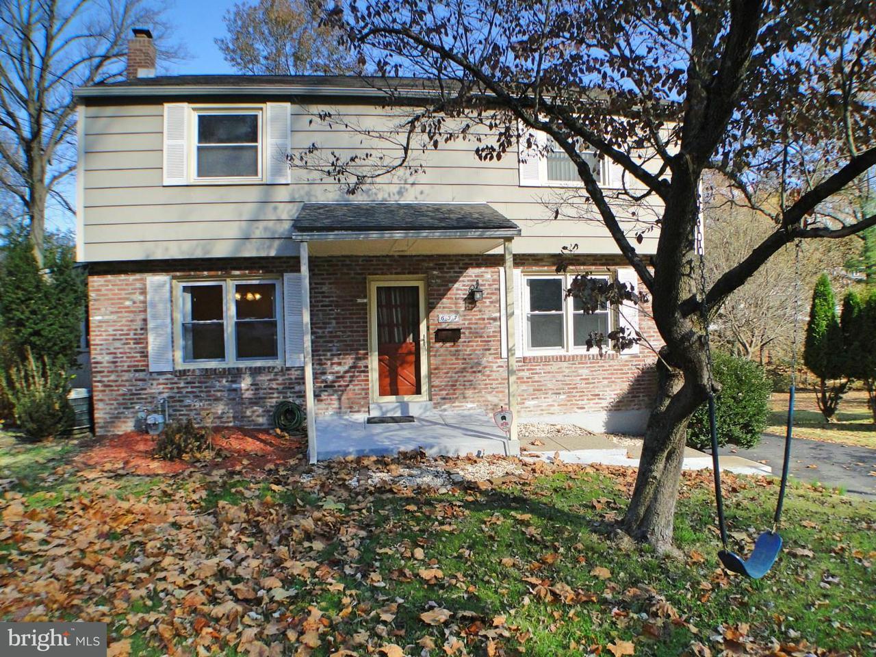 独户住宅 为 出租 在 637 N BISHOP Avenue Springfield, 宾夕法尼亚州 19064 美国