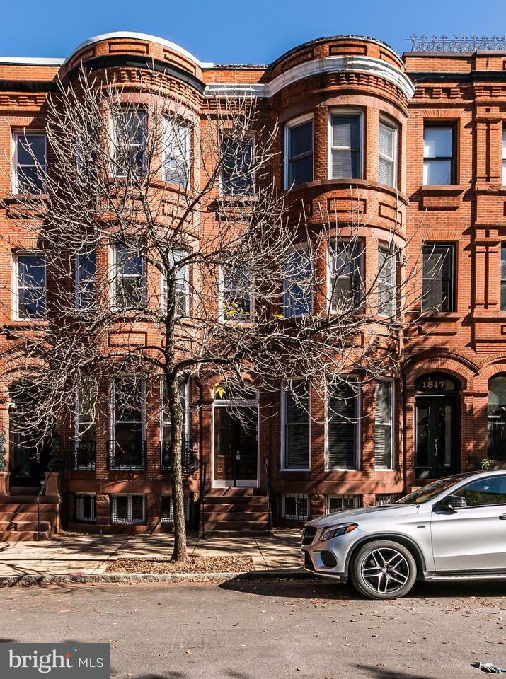 Single Family for Sale at 1819 Bolton St Baltimore, Maryland 21217 United States