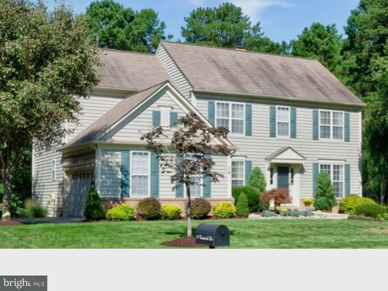 Maison unifamiliale pour l Vente à 19 EASTWICK Drive Gibbsboro, New Jersey 08026 États-Unis