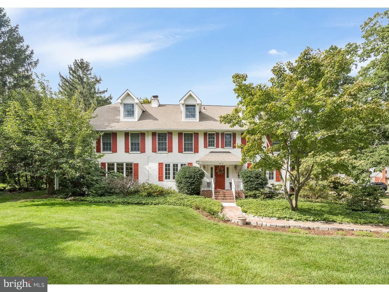Single Family Home for Sale at 612 WARWICK Road Barrington, New Jersey 08033 United States