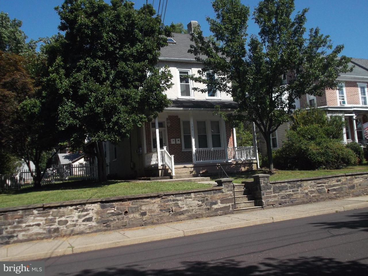 дуплекс для того Аренда на 120 S 5TH Street Perkasie, Пенсильвания 18944 Соединенные Штаты
