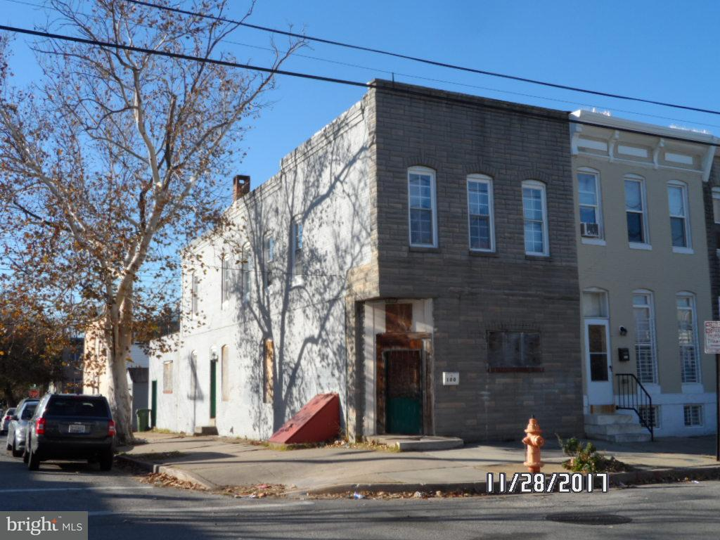 Single Family for Sale at 100 Kresson St Baltimore, Maryland 21224 United States