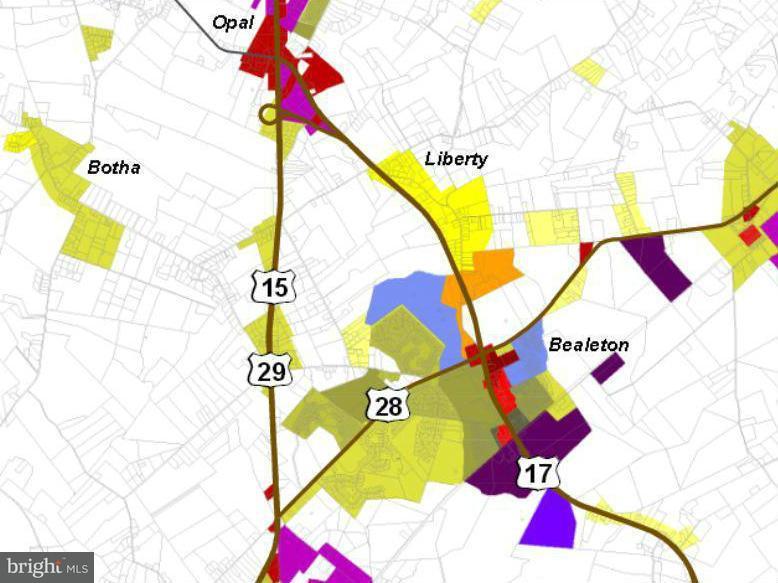 Земля для того Продажа на 10257 FAYATESVILLE Road 10257 FAYATESVILLE Road Bealeton, Виргиния 22712 Соединенные Штаты