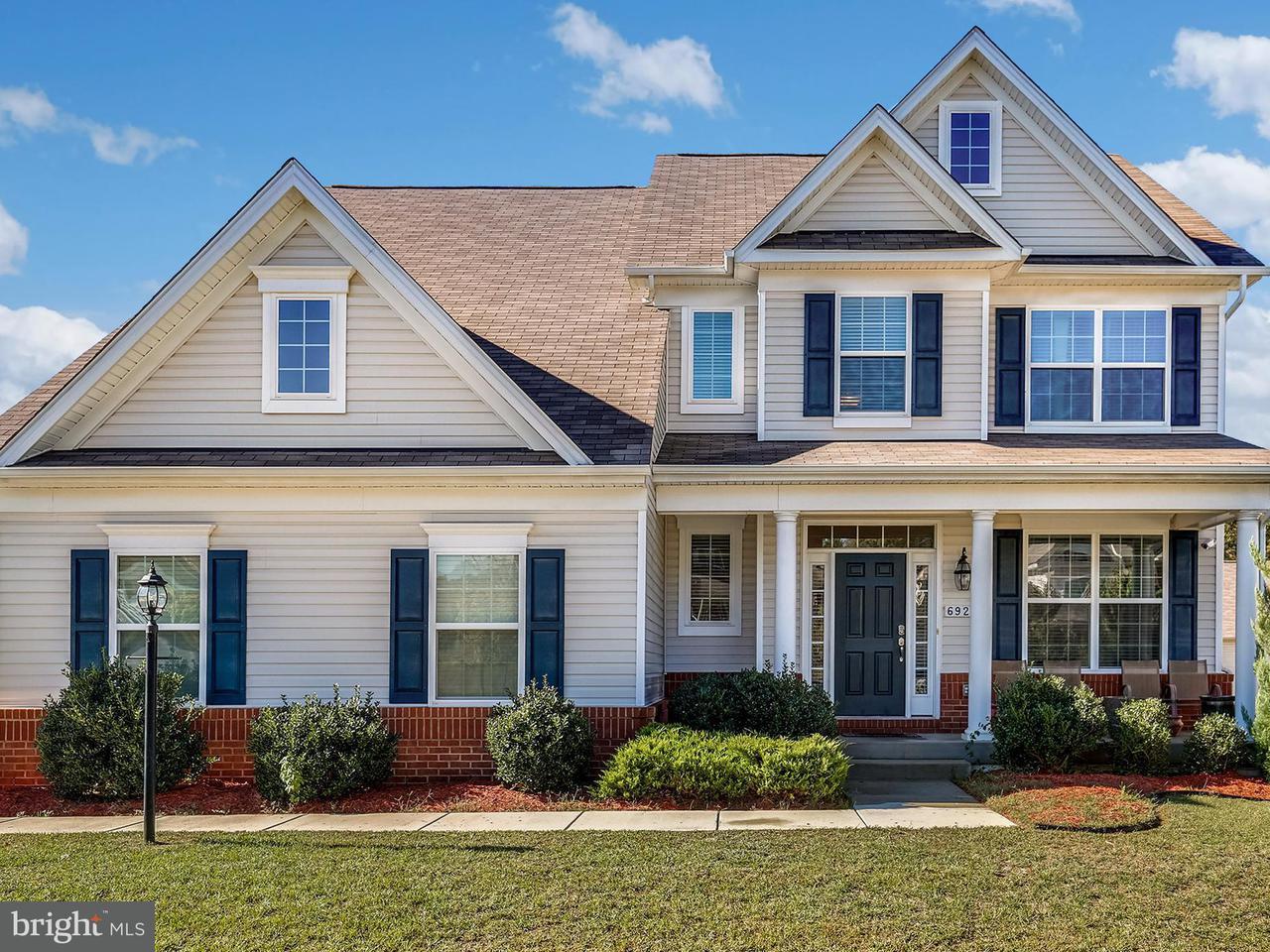 Maison unifamiliale pour l Vente à 6927 FARRAGUT Drive 6927 FARRAGUT Drive Bryans Road, Maryland 20616 États-Unis