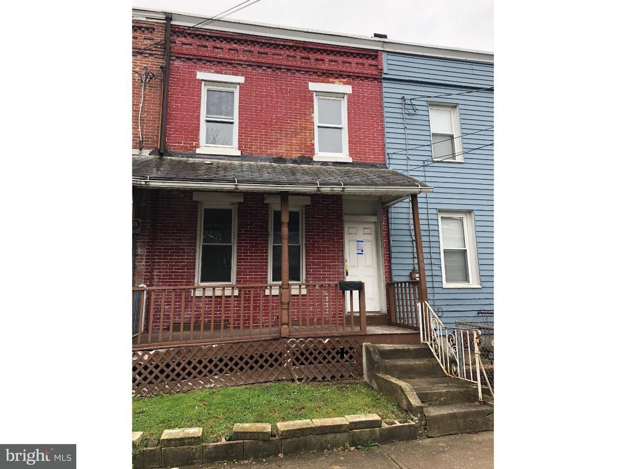 联栋屋 为 销售 在 59 HOPKINS Street Woodbury, 新泽西州 08096 美国