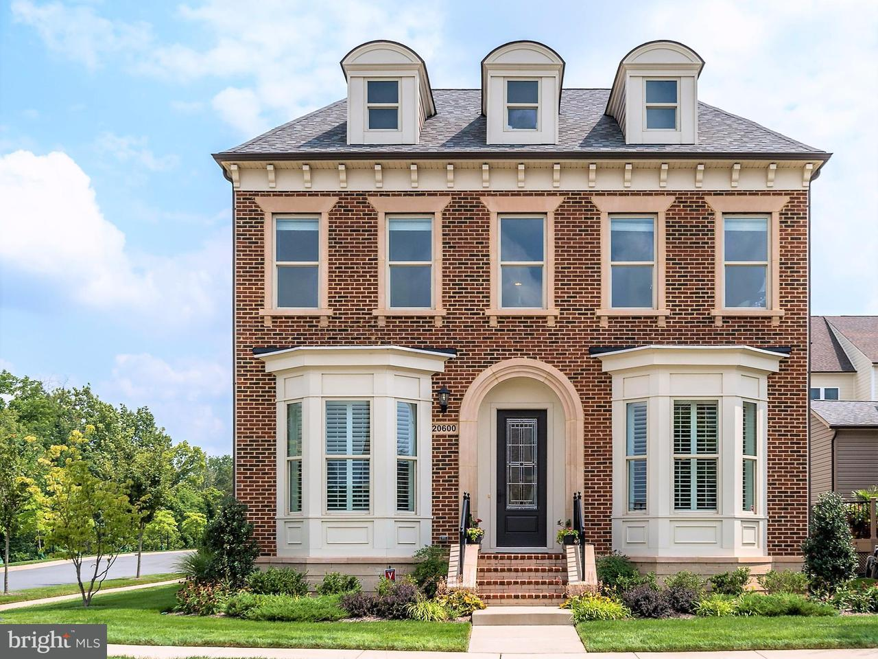 Single Family Home for Sale at 20600 EXCHANGE Street 20600 EXCHANGE Street Ashburn, Virginia 20147 United States