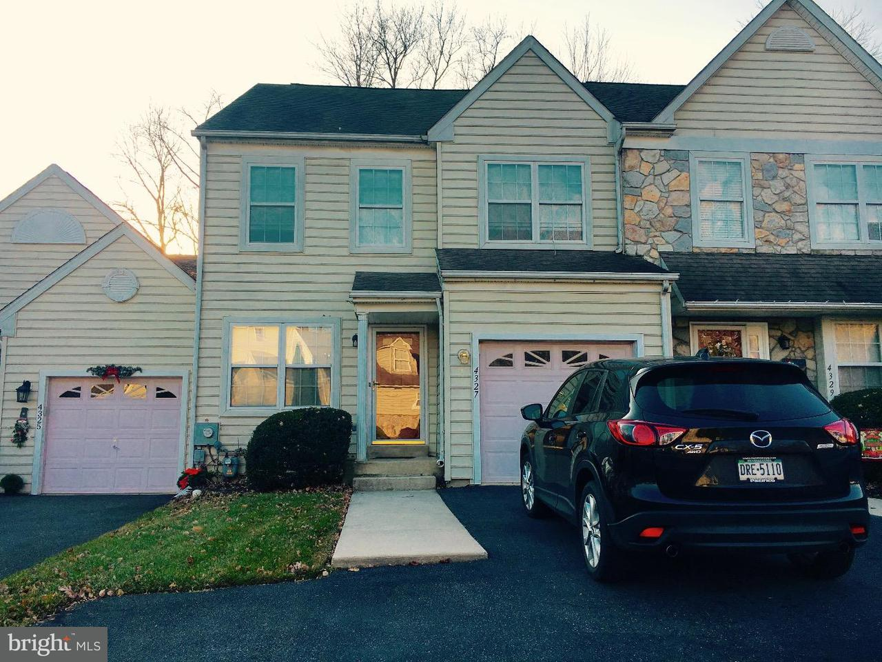 Townhouse for Rent at 4327 SOMERSET Lane Aston, Pennsylvania 19014 United States