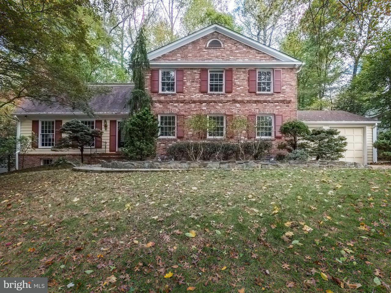 Casa Unifamiliar por un Venta en 7509 HACKAMORE Drive 7509 HACKAMORE Drive Potomac, Maryland 20854 Estados Unidos