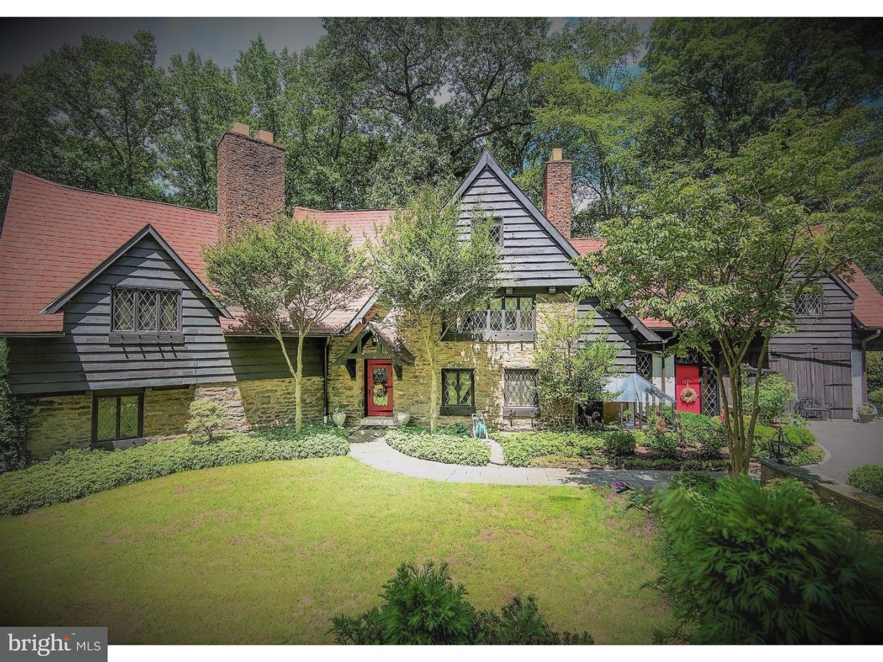 Частный односемейный дом для того Продажа на 936 MOREDON Road Jenkintown, Пенсильвания 19046 Соединенные Штаты