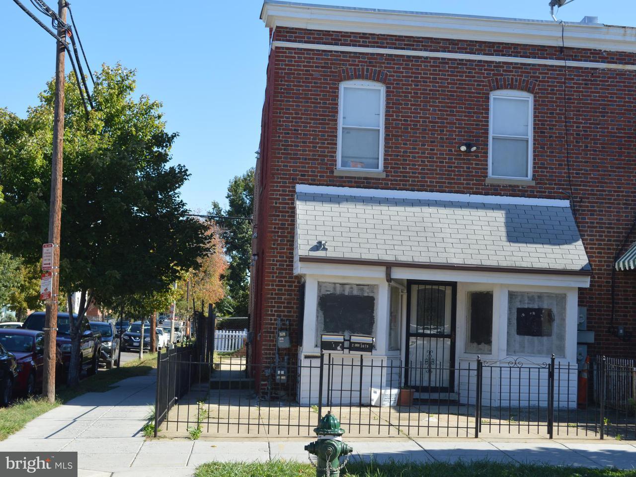 二世帯住宅 のために 売買 アット 1679 MONTELLO AVE NE 1679 MONTELLO AVE NE Washington, コロンビア特別区 20002 アメリカ合衆国