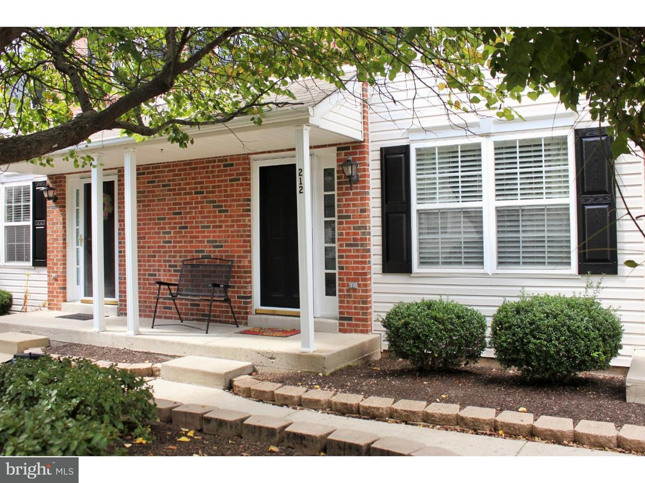 Condominium for Rent at 212 TANAGER CT #259 Warrington, Pennsylvania 18976 United States