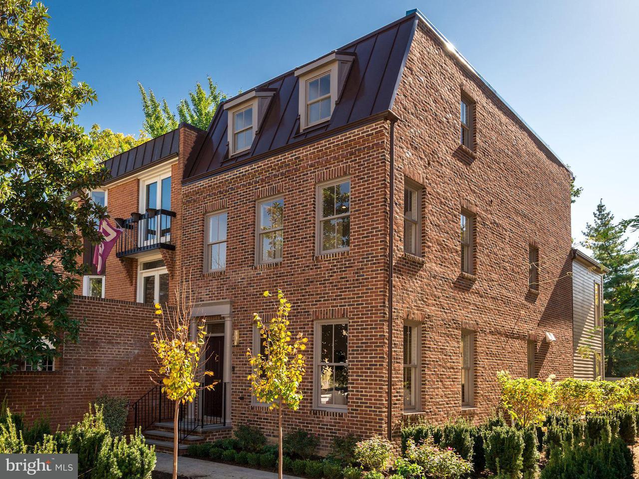 Casa unifamiliar adosada (Townhouse) por un Venta en 3324 Dent Pl Nw 3324 Dent Pl Nw Washington, Distrito De Columbia 20007 Estados Unidos