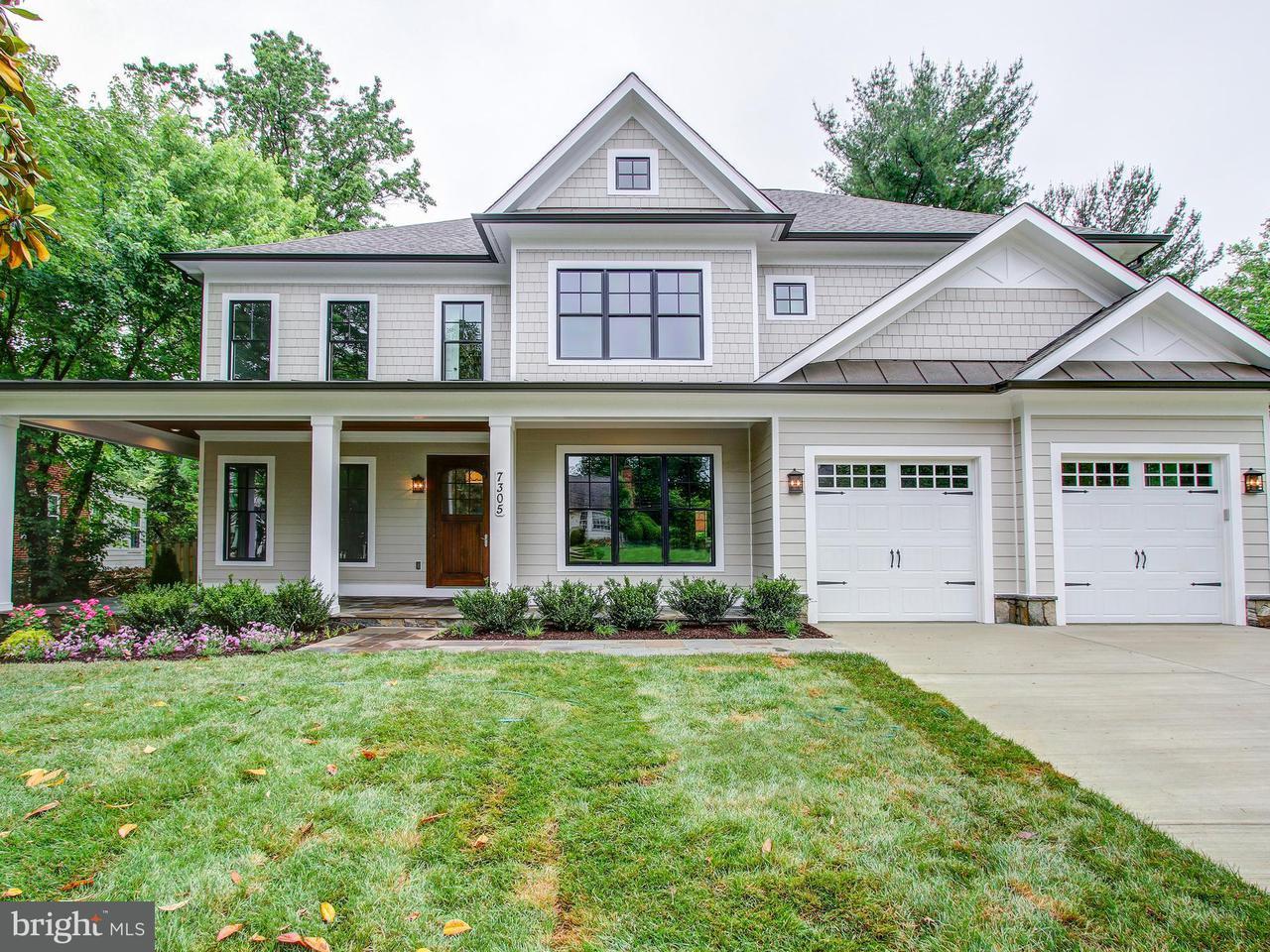Maison unifamiliale pour l Vente à 7305 DURBIN TER 7305 DURBIN TER Bethesda, Maryland 20817 États-Unis