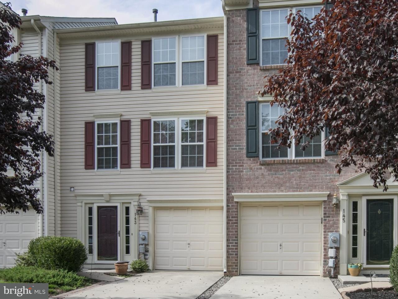 联栋屋 为 销售 在 143 VALLEY FORGE WAY Woodbury, 新泽西州 08096 美国