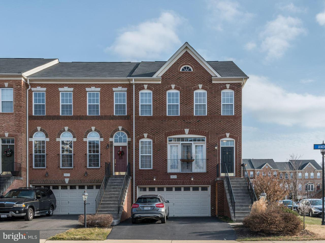 Townhouse for Sale at 25128 Andes Ter 25128 Andes Ter Aldie, Virginia 20105 United States