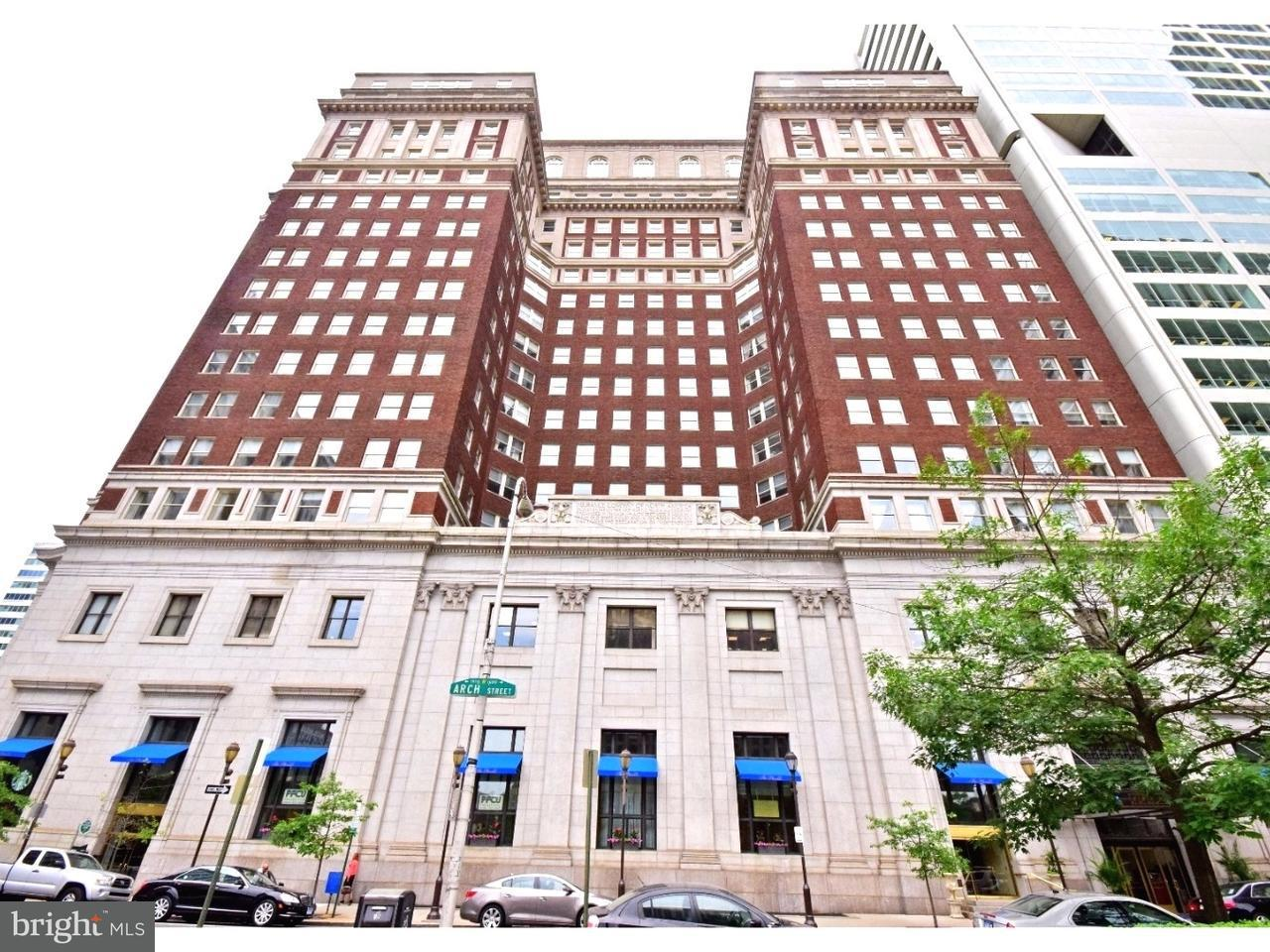 Single Family Home for Sale at 1600-18 ARCH ST #1220 Philadelphia, Pennsylvania 19103 United States